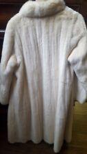 GREAT White/Ombra/Arctic Mink fur coat/giacca taglia media e grande 8 - 12