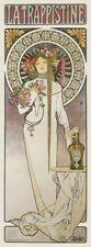 La Trappistine, 1897 by Alphonse Mucha Art Print 34x14