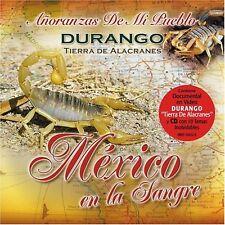 Alacranes Musical, Los Bondadosos, KPaz Mexico En La Sangre Durango CD New