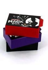 MEGA MAGIC BOX 11CM 3 PCS TRICK VANISH & APPEAR CHANGE DRAWER SECRET CLOSE UP