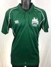 Canterbury of New Zealand Mens Size L Large Rugby Jersey Green Shirt CCC
