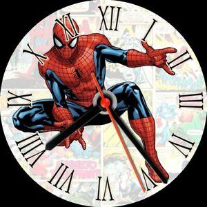 CD wall clock marvel hulk avengers iron man spiderman personalised customised