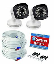 Pack of 2 x Swann SRPRO-T835WB2 720p HD CCTV Bullet Security CCTV Camera