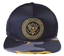 Wu Tang Brand Ltd Black Camo Commander Snapback Baseball Hat Cap NWT
