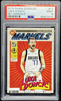 Luka Doncic 2019-20 Donruss Net Marvels #17 Dallas Mavericks Mint PSA 9