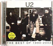 "U2 - RARE TAIWAN DOUBLE CD ""THE BEST OF 1990-1992"" - NO OBI"