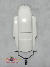 """Streetglide Stretched Rear Fender Extended 7"""". fits Harley touring bagger  09-14"""