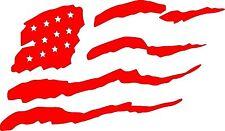 Distressed American Flag Custom Vinyl Decal Sticker USA America Car Home Window