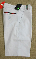 Nike sz 32 Men's LeBron Slim Chambray Golf Leisure Flat Front Shorts 607837 002
