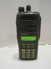 Motorola MTX8250 800 MHz Two Way Radio with keypad AAH25UCH6GB6AN