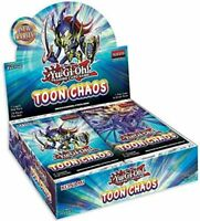YuGiOh Toon Chaos Booster Box FACTORY SEALED English PRESALE 6/19 PRE-ORDER
