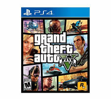 Grand Theft Auto V Playstation 4 (PS4) Physical Disc Copy + Los Santos Map - VG
