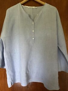 TRENERY French Linen Top Size XL