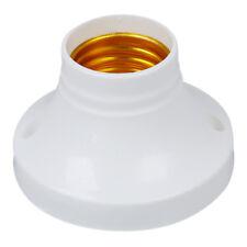 SODIAL(R) 10pcs E27 douille plastique Lampe Support base AC250V 6A B8U2