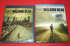 The Walking Dead - Seasons 1 And  2 (Blu Ray-Disc Sets) Collection NEW & USED