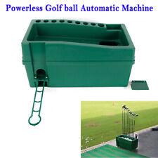 Golf ball Dispenser Powerless Electricity-Less Golf ball Automatic Machine Green