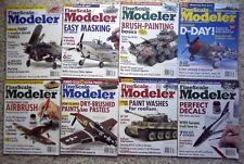 Lot of 7 Fine Scale Modeler:2004 Mar Apr May Jul Oct Nov Dec + 1 free 2001 Nov