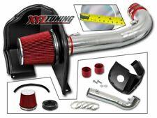 "3.5"" RED Heat Shield Cold Air Intake + Filter For 14-18 Silverado 1500 4.3L V6"