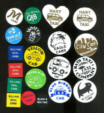 20 different taxi transit tokens