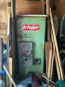 1950s Dr. Pepper Vending Machine - Conroe, TX
