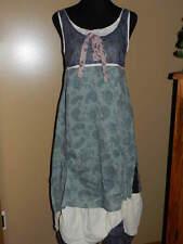 Women's IAN MOSH Green Water Off-White Paisley Drape MAXI Dress NWT US 8 EU 2