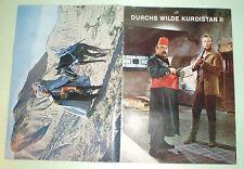Karl May - Eikon - Sammelalbum Durchs wilde Kurdistan II - Film Bilder - kompl.