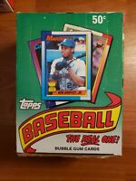 1990 Topps Baseball Card Box of 36 new Packs🔥 Possible Ken Griffey.