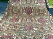 Beautiful Geometric Patterned 1900-1939s Antique 7x10ft Area Rug