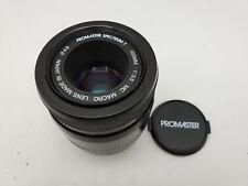 Promaster 100mm F3.5 MC 1:2 Macro Lens for Minolta Maxxum Sony Alpha SLR Cameras