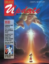 IMAGE UPDATE MAGAZINE - FEBRUARY-MARCH 1993 BACK ISSUE - SCRATCH ON TOP RIGHT