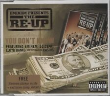 EMINEM presents THE RE-UP You don't know 2 TRACK CD  NEW - NOT SEALED