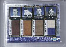 16-17 2016-17 BLUE AND WHITE MAPLE LEAFS CENTENNIAL CAPTAIN'S ROW GAME USED /5