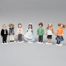 10cm Vintage 1:12 Dollhouse Miniature Mini Doll Model Crafts Dollhouse Child FR