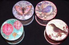 Punch Studio Round Decorative Boxes, Jars & Tins