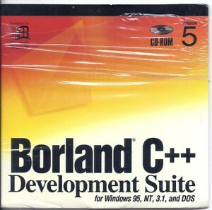 Borland C++ Development Suite Version 5 Windows 95, NT, 3.1 & DOS BDS1350WW10182