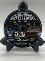 Star Wars Battlefront II PS2 Disc Only Tested Sony Playstation 2 Ps2 Game Good