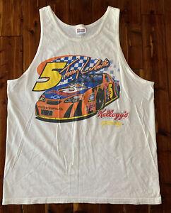vintage nascar shirt large Terry labonte kelloggs tank top Hendrick Motorsports