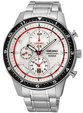 SEIKO Chronograph SNDF35P1 Orologio Crono Racer Uomo Acciaio Men's Watch
