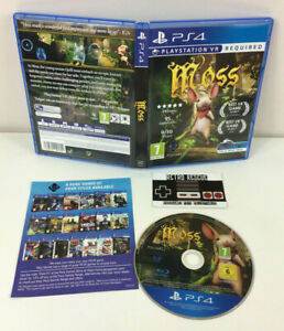 Moss | PS4 Playstation 4 | Game Boxed Insert PAL PSVR Virtual Reality VR