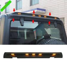 LED Black Rear Roof Spoiler Wing Trim Fits For Jeep Wrangler JL 2108-2020