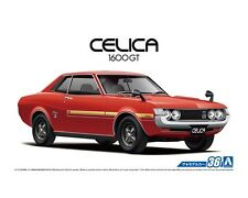 Aoshima 1/24 Toyota Celica Notch Back 1600GT PLASTIC MODEL KIT 5318