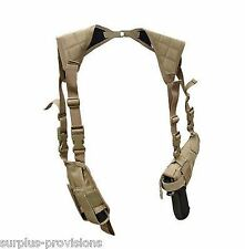Condor Tactical Vertical Shoulder Holster & Double Mag Tan #ASH