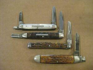 4 VINTAGE KNIVES **PARTS OR REPAIR**