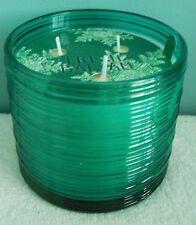 1 Bath & Body Works Fresh Balsam Ridged Glass Candle - 14 oz.