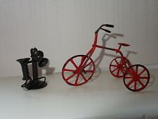 DOLLHOUSE ACCESSORIES BICYCLE TELEPHONE