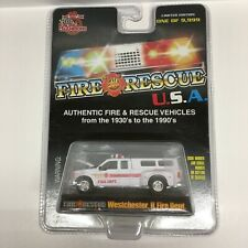 Racing Champions Fire Rescue 99 Ford F-350 P/U Westchester IL Fire Dept