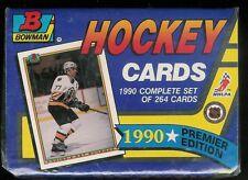 1990-91 BOWMAN HOCKEY FACTORY SEALED SET 1-264