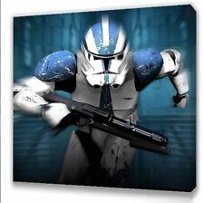 Star wars Clone trooper Kids bedroom canvas picture