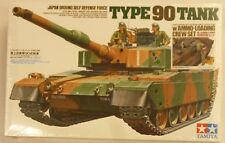 Tamiya 89564 1/35 Scale Model Kit JGSDF Type 90 MBT Tank wAmmo Loading Crew Set