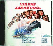 """MICHEL LEGRAND - FRANCIS LAI - CD """"LES UNS ET LES AUTRES"""" - OST - COMME NEUF"""